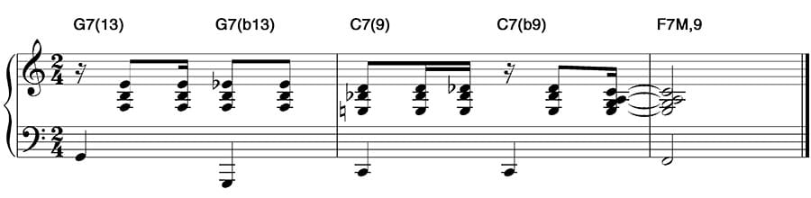 bossa nova harmonia