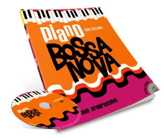 Piano Bossa Nova método completo em DVD
