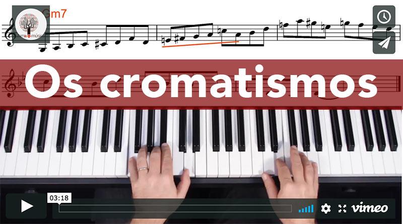 os cromatismos na composição melódica