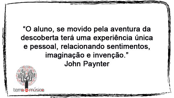 história da educação musical - John Paynter