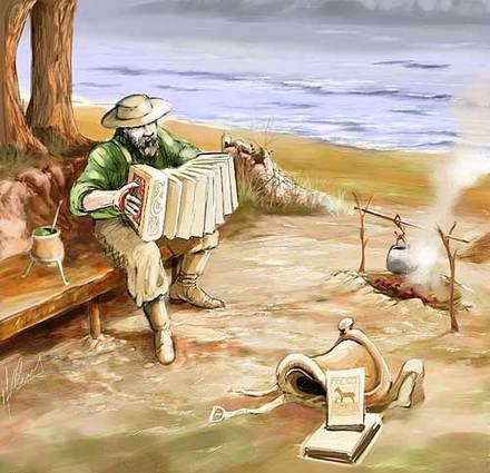 Milonga - música gaúcha