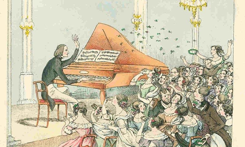 Franz Liszt em concerto
