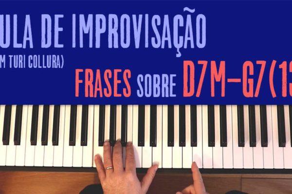 Aula de improvisação - D7M-G7(13)