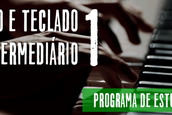 estudos de piano e teclado intermediário