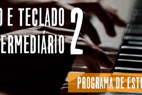 Estudos de piano e teclado