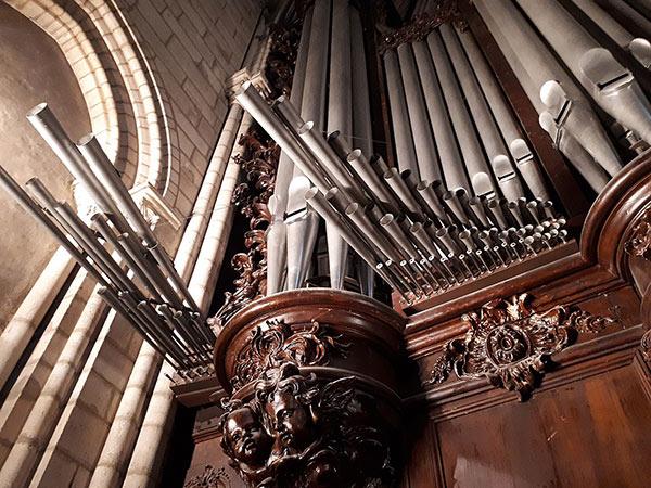 Orgao de Notre Dame de Paris - detalhe