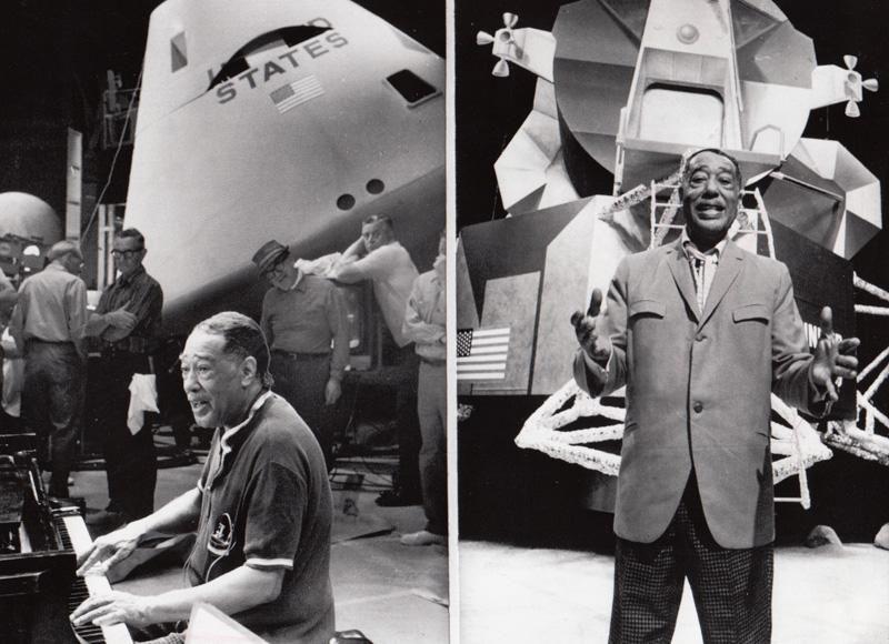 Moon Maiden Duke Ellington e o Apolo 11