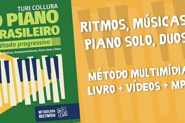 Piano Brasileiro livro