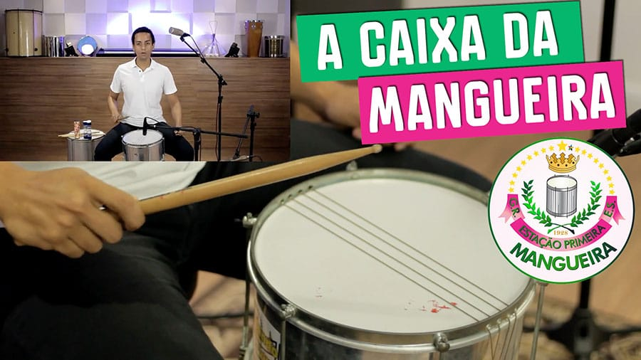 caixa da mangueira escola de samba