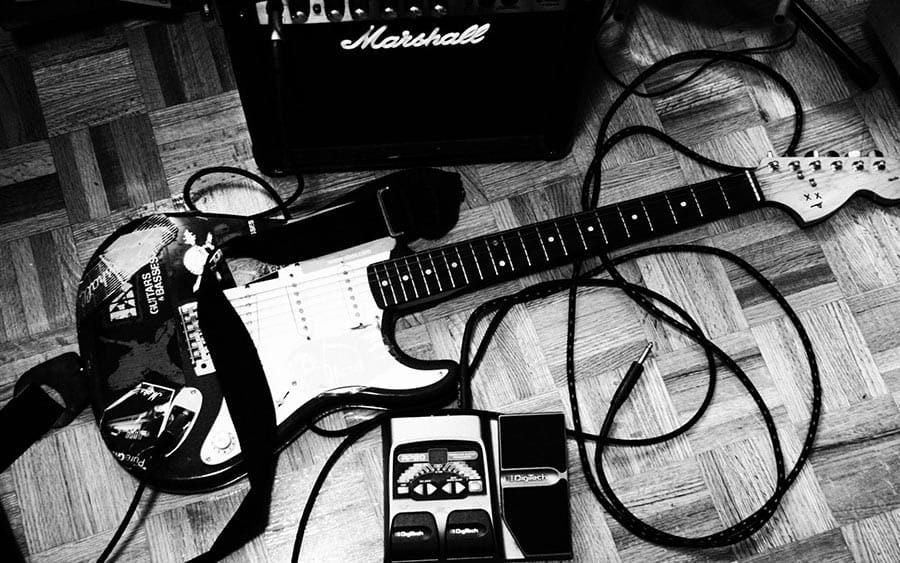 Guitarra e equipamentos