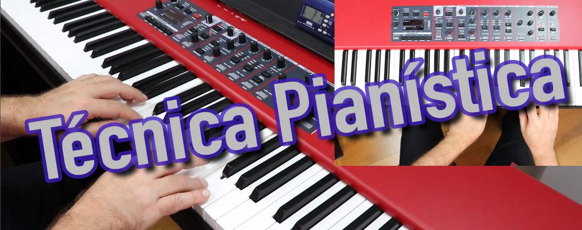 Técnica Pianística - Curso Online com Turi Collura