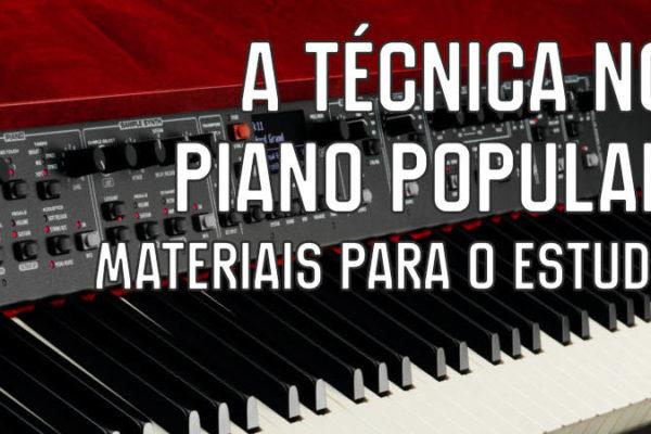 técnica para o piano popular