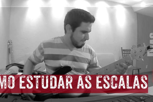 Estudar as escalas no baixo - Filipe Dias