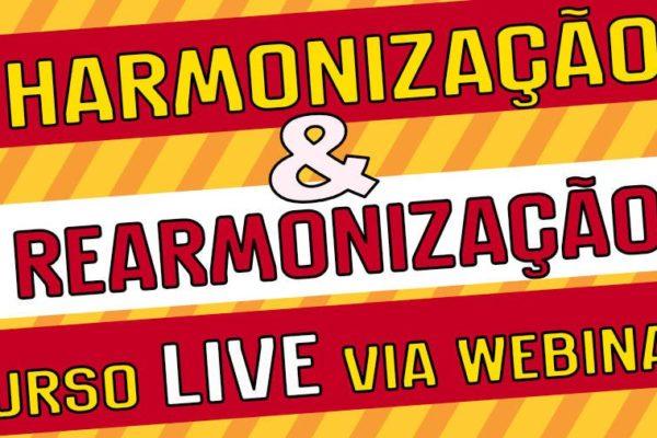 Harmonização e rearmonização curso via webinar ao vivo