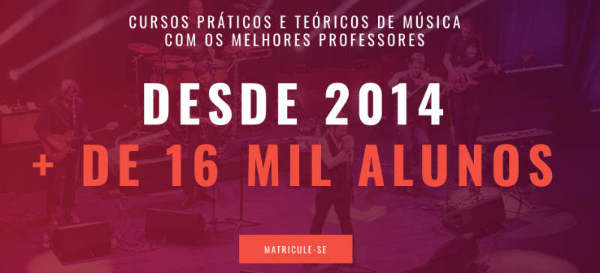 Cursos de música online Terra da Música