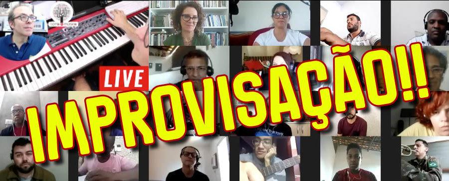 Improvisação e Composição Melódica - Curso Online via Webinar - Zoom e Facebook Grupo Fechado
