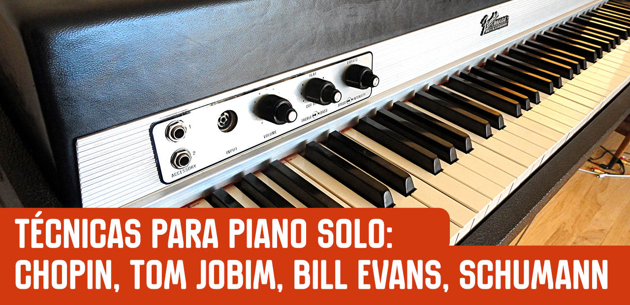 Chopin, Tom Jobim e Bill Evans